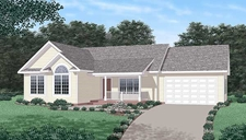 Three Bedroom Master Suite - Two Bathrooms - Garage - Vaulted Ceilings #275300-24286